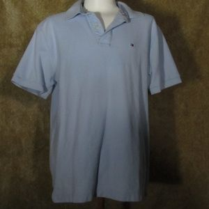 TOMMY HILFIGER Polo Mens Size Large